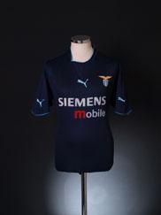 2002-03 Lazio Away Shirt M
