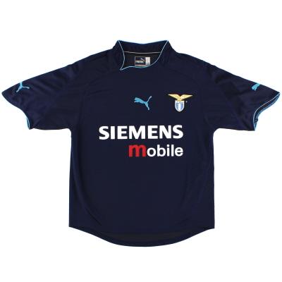 2002-03 Lazio Away Shirt S