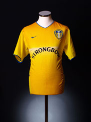 2002-03 Leeds Away Shirt XL