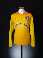2002-03 Leeds Away Shirt L/S L