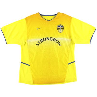 2002-03 Leeds Nike Away Shirt XL