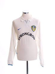 2002-03 Leeds Home Shirt L/S *Mint* L