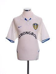 2002-03 Leeds Home Shirt S
