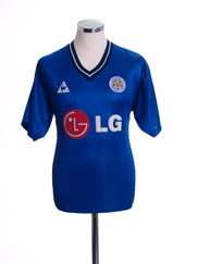 2002-03 Leicester Home Shirt M