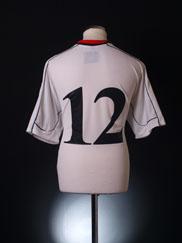 2002-03 Manchester City Away Shirt #12 XL