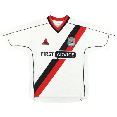 2002-03 Manchester City Le Coq Sportif Away Shirt S