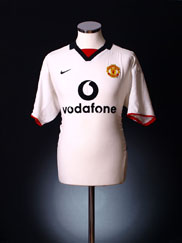 2002-03 Manchester United Away Shirt XXL