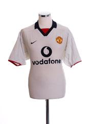 2002-03 Manchester United Away Shirt L