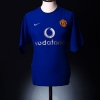 2002-03 Manchester United CL Third Shirt Keane #16 XL