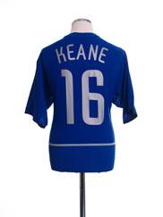 2002-03 Manchester United CL Third Shirt Keane #16 L