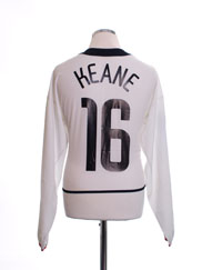 2002-03 Manchester United CL Away Shirt Keane #16 L/S L