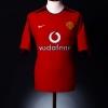 2002-04 Manchester United Home Shirt P.Neville #3 L