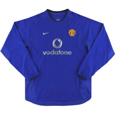 2002-03 Manchester United Nike Third Shirt L/S XL