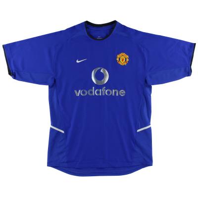 2002-03 Manchester United Nike Third Shirt *Mint* L