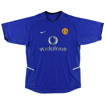 2002-03 Manchester United Third Shirt *As New* L