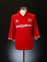 2002-03 Middlesbrough Home Shirt XL