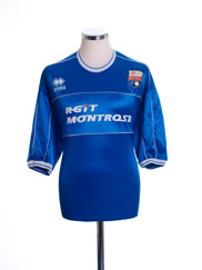 2002-03 Montrose Home Shirt XL