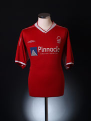 2002-03 Nottingham Forest Home Shirt XL