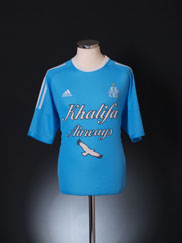 2002-03 Olympique Marseille Away Shirt L