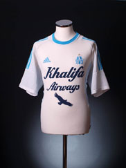 2002-03 Olympique Marseille Home Shirt L