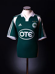 2002-03 Panathinaikos Home Shirt S