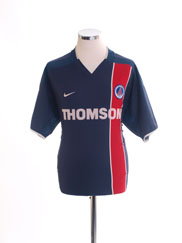 2002-03 Paris Saint-Germain Home Shirt *Mint* XL