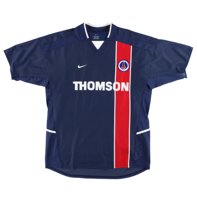 2002-03 Paris Saint-Germain Nike Player Issue Home Shirt L