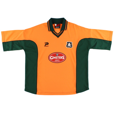 2002-03 Plymouth Patrick Away Shirt XL
