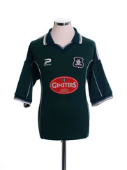 2002-03 Plymouth Home Shirt M