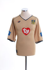 2002-03 Portsmouth 'Division One Champions' Away Shirt L