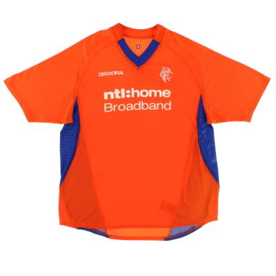 2002-03 Rangers Away Shirt L