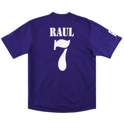 2002-03 Real Madrid adidas Centenary Third Shirt Raul #7 XL