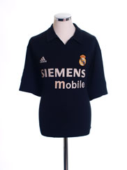 2002-03 Real Madrid Centenary Away Shirt XL