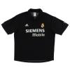 2002-03 Real Madrid Centenary Away Shirt Zidane #5 XL