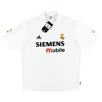 2002-03 Real Madrid Centenary Home Shirt *w/tags* XL