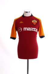 2002-03 Roma Champions League Home Shirt L