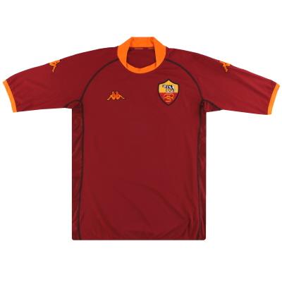 2002-03 Roma Kappa Home Shirt XXXL