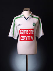 2002-03 Saint Etienne Away Shirt XL