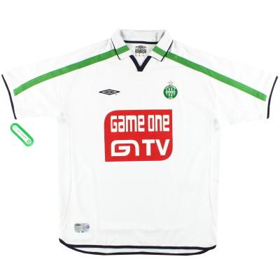 2002-03 Saint Etienne Umbro Away Shirt *w/tags* XL