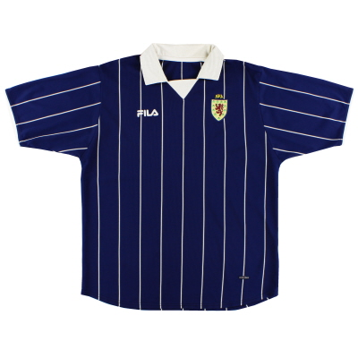 2002-03 Scotland Home Shirt XL