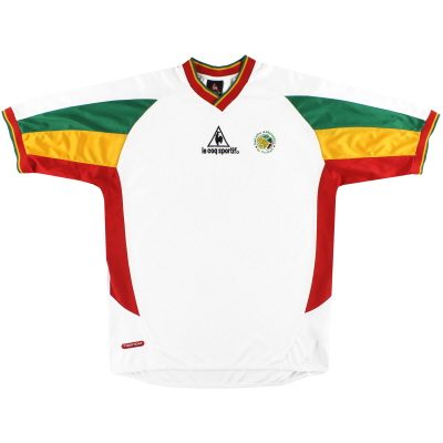 2002-03 Senegal Le Coq Sportif Home Shirt XL