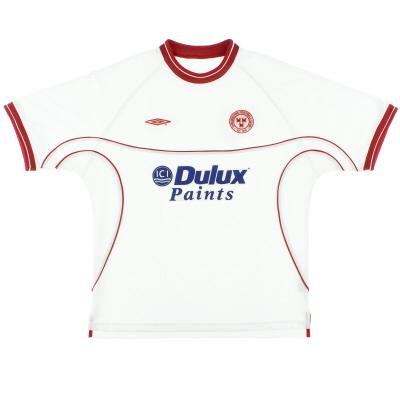2002-03 Shelbourne Away Shirt XL