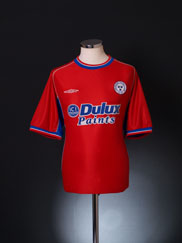 2002-03 Shelbourne Home Shirt L