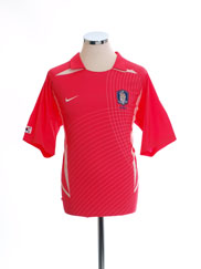 2002-03 South Korea Basic Home Shirt M
