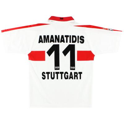 2002-03 Stuttgart Home Shirt Amanatidis #11 S