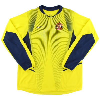 2002-03 Sunderland Goalkeeper Shirt XL