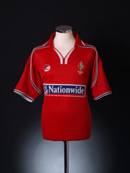 2002-03 Swindon Town Home Shirt XL