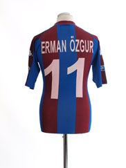 2002-03 Trabzonspor Home Shirt Erman Ozgur #11 L