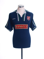 2002-03 Walsall Away Shirt M