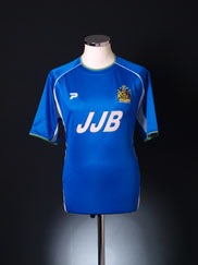 2002-03 Wigan Home Shirt M